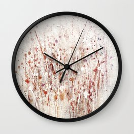 little rose Wall Clock