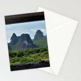 View to the Mountains Stationery Cards