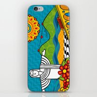 rio de janeiro iPhone & iPod Skins featuring Rio de Janeiro 2015 by Monica Fuchshuber