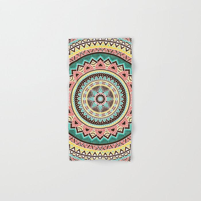 Hippie Mandala 13 Hand & Bath Towel