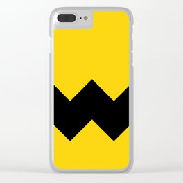 Be Charlie Brown Clear iPhone Case