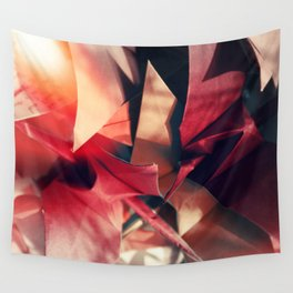 Senbazuru | shades of red Wall Tapestry