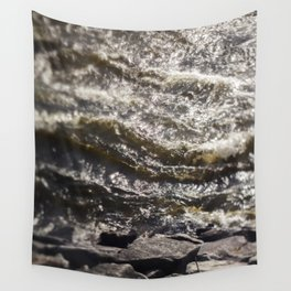 Torrent river Wall Tapestry