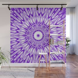 Purple Kaleidoscope  Wall Mural