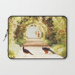 Lovers and Peacocks Laptop Sleeve
