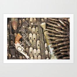 Let's make Peace Art Print