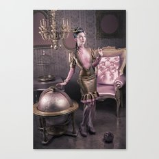 DREAMS OF GOLD AND PINK Canvas Print