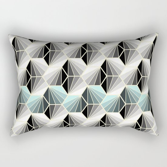 Natural Geometry Rectangular Pillow