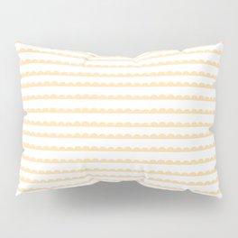 Yellow Scallop Pillow Sham