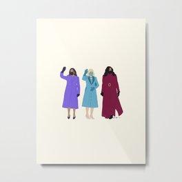 Inaugural Trio 2021 Metal Print