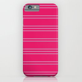 Simple Lines Pattern bp iPhone Case