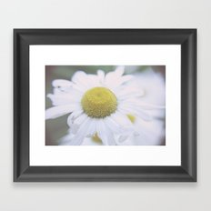 daisy do right. Framed Art Print