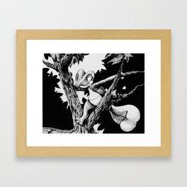 Treecko Framed Art Print