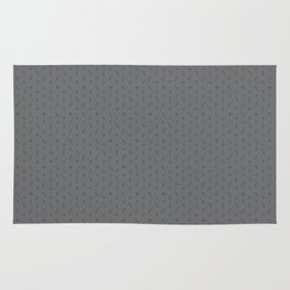 Claymore 7 Pattern - Medium Grey Rug