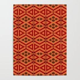 Tribal Pattern Design Poster