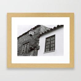 Harmony of contrasts Framed Art Print