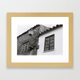 Harmony of contrasts Framed Art Print