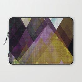 Mountains print, Abstract print, geometric wall art, abstract mountain, minimalist art, modern art, Laptop Sleeve
