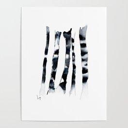 Birch Dusk Poster