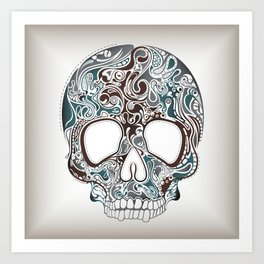 Cranium #001 Art Print