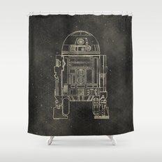R2D2 Shower Curtain