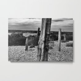 Dungeness 3 Metal Print
