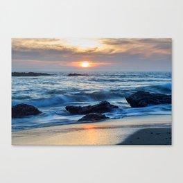 Crystal Cove, Laguna Beach Canvas Print