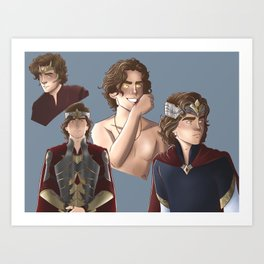 Ed Art Print