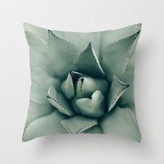 Desert Succulent Throw Pillow