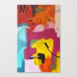Face V Canvas Print