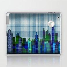 Plaid City Twilight Laptop & iPad Skin