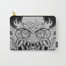 Oni from the Black Lagoon (dark) Carry-All Pouch