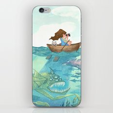 The Lake of Lurking Monsters iPhone & iPod Skin
