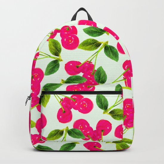 Cherry Picking #society6 #decor #buyart Backpack