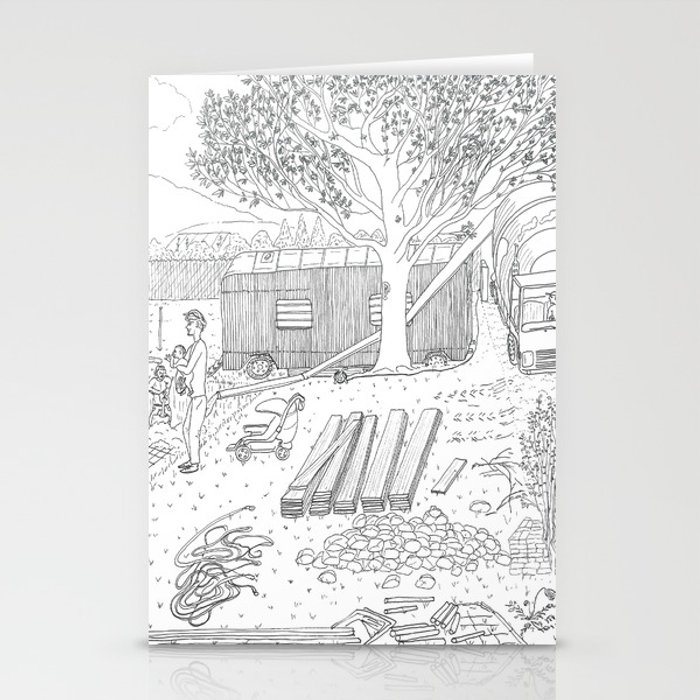 beegarden.works 015 Stationery Cards