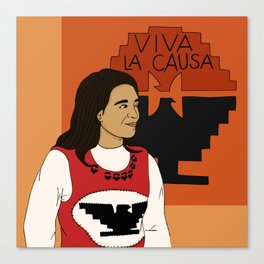 Viva La Causa Canvas Print