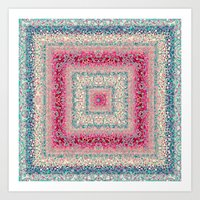 square Art Prints featuring Square by Truly Juel