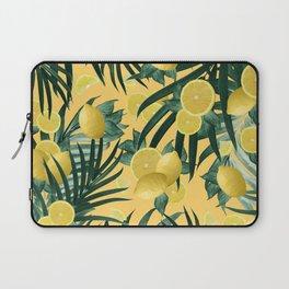 Summer Lemon Twist Jungle #3 #tropical #decor #art #society6 Laptop Sleeve