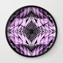 The Purple Diamonte Wall Clock