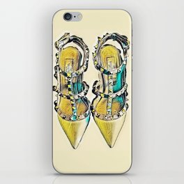 Rockstud Shoes Numero 2 iPhone Skin
