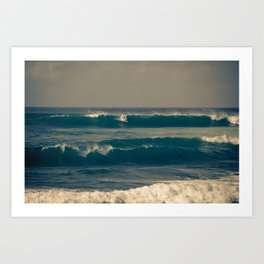 North Shore Art Print