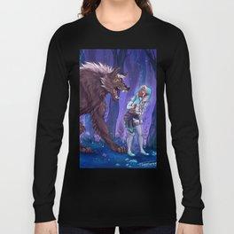 Werewolf Shiro and princess Allura Long Sleeve T-shirt
