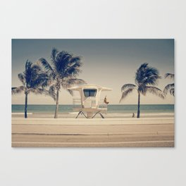 Sunny South Canvas Print
