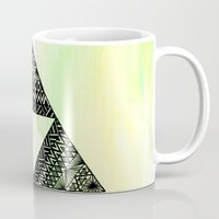triforce Mugs featuring Triforce by Leonnie's Art