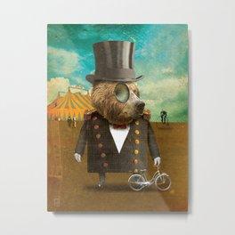Circus-Circus: Peddler Metal Print