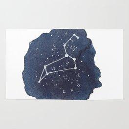 leo constellation zodiac Rug