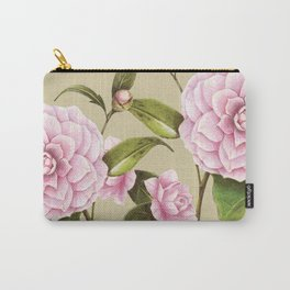 CAMILLIA BOTANICAL ILLUSTRATION yellow Carry-All Pouch