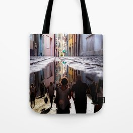 A Reflection of City Life by GEN Z Tote Bag