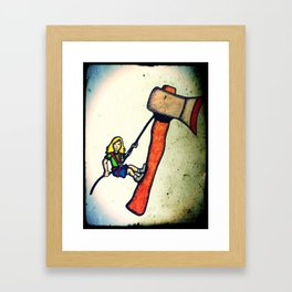 Climax Framed Art Print