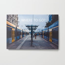Where to go - wandering around the world Metal Print